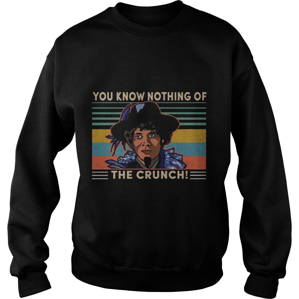 Vintage You Know Nothing Of The Crunch Sweater