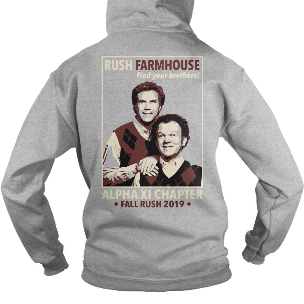 WKU FarmHouse Rush Farmhouse Find Your Brothers Alpha Xi Chapter Hoodie
