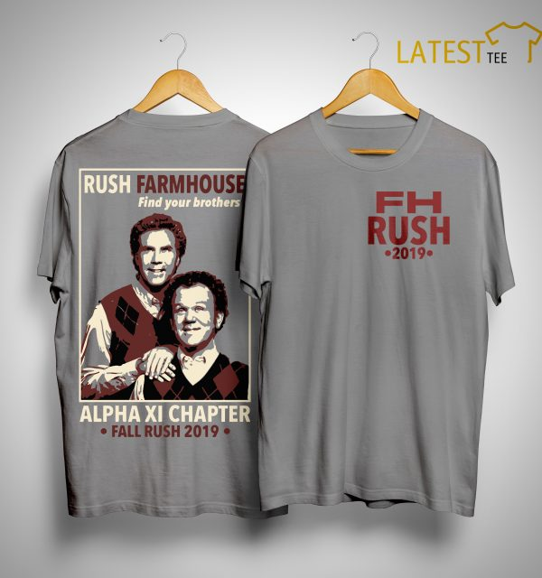 WKU FarmHouse Rush Farmhouse Find Your Brothers Alpha Xi Chapter Shirt