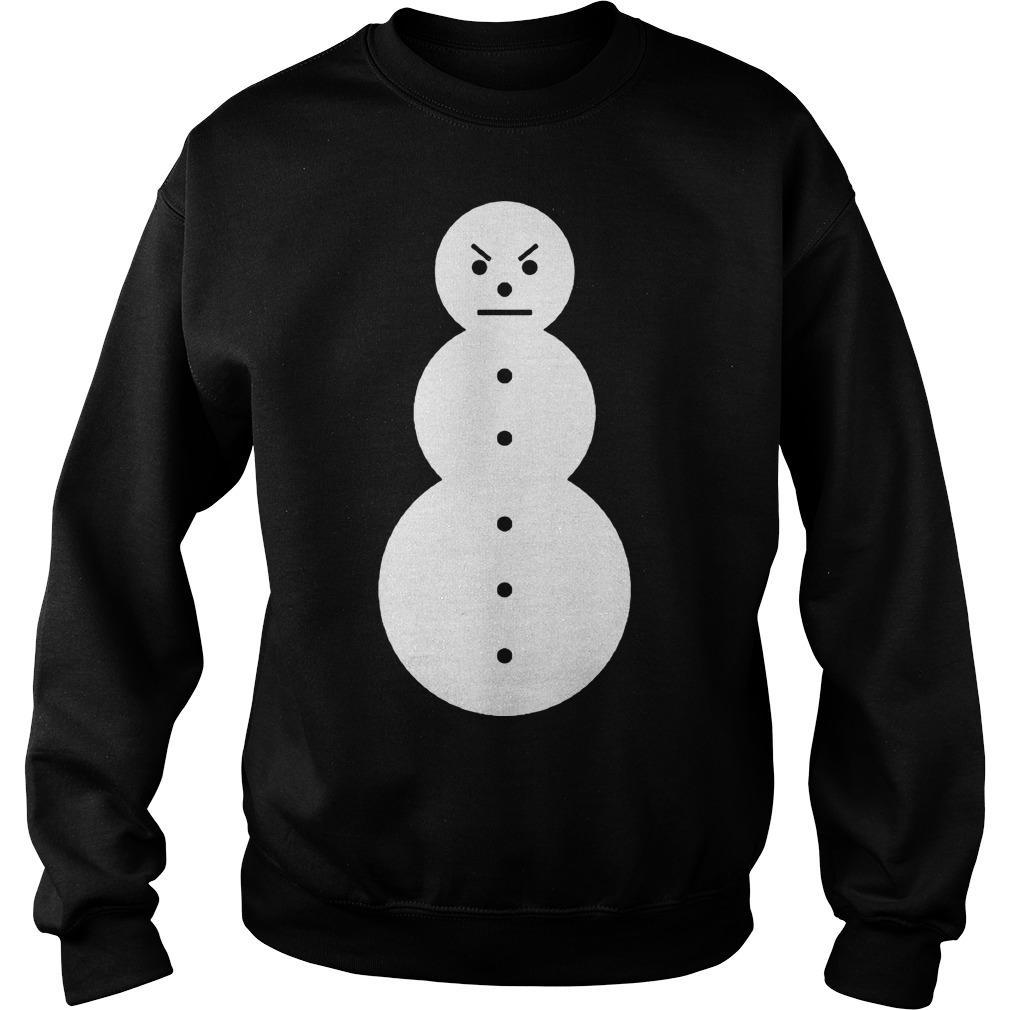 Weather Channel Jeezy Snowman TM104 Sweater