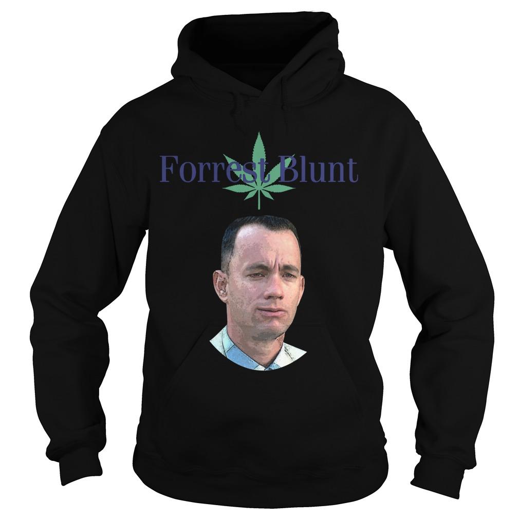 Weed Forrest Blunt Hoodie