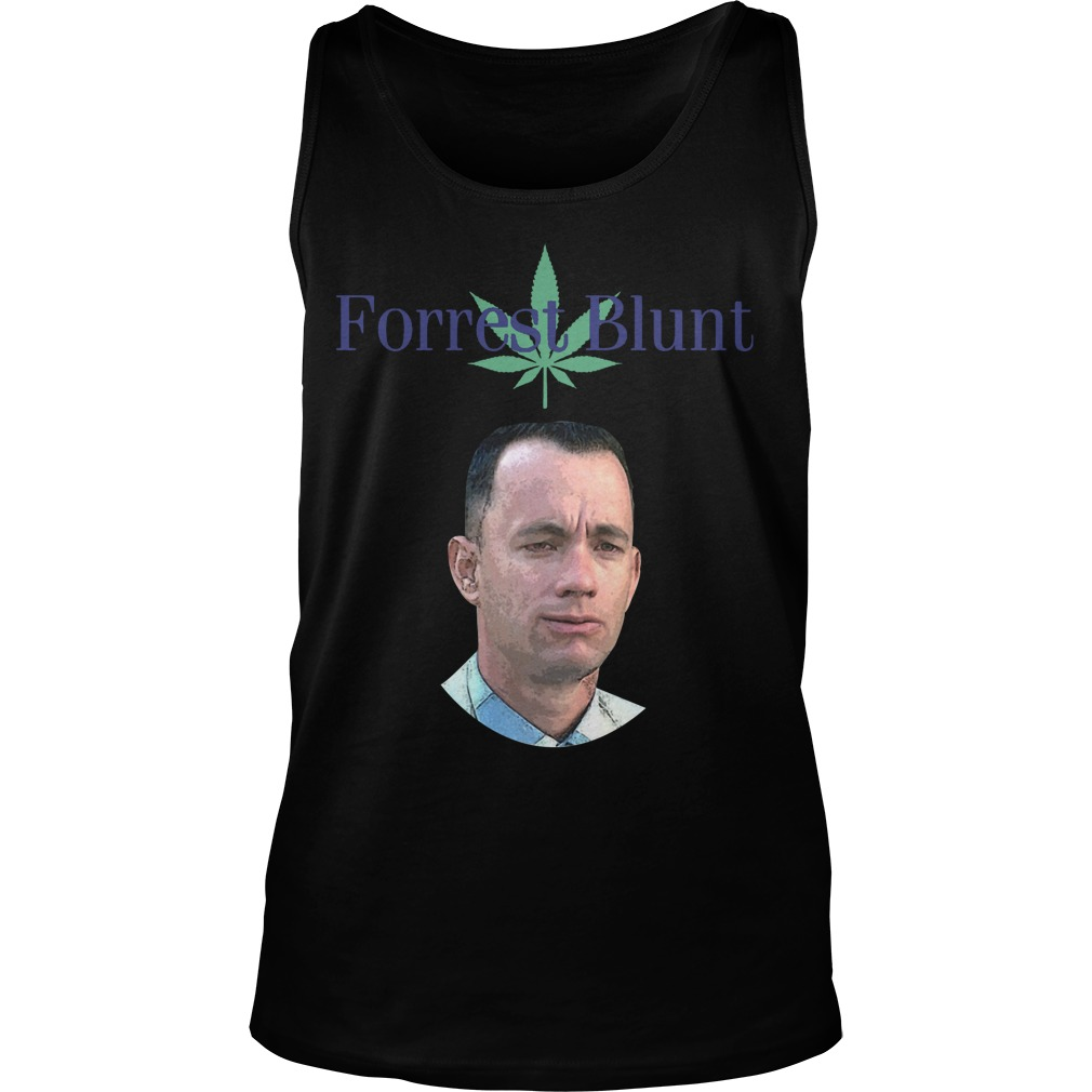 Weed Forrest Blunt Tank Top