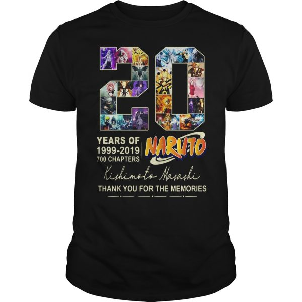 20 Years Of Naturo 1999 2019 700 Chapters Thank You For The Memories Signatures