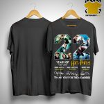 22 Years Of Harry Potter 1997 2019 Thank You The Memories Signatures Shirt