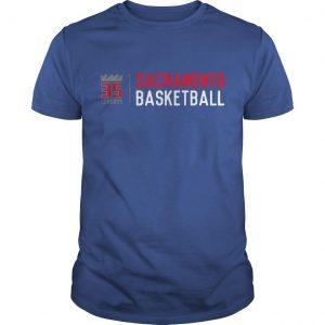 35 Seasons Sacramento Basketball Shirt