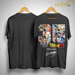 35 Years Of Dragon Ball 1984 2019 7 Series Toriyama Akira Shirt