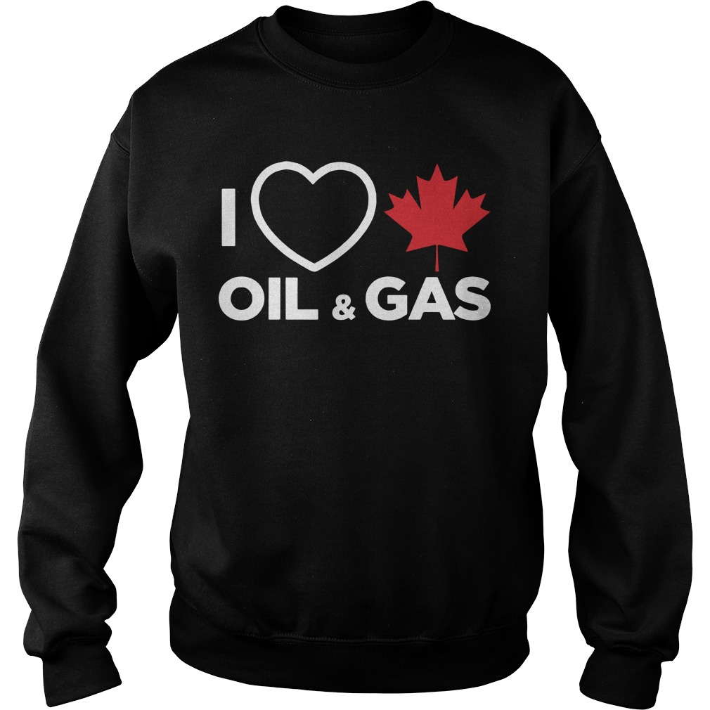 Alberta Man I Love Canadian Oil And Gas Sweater