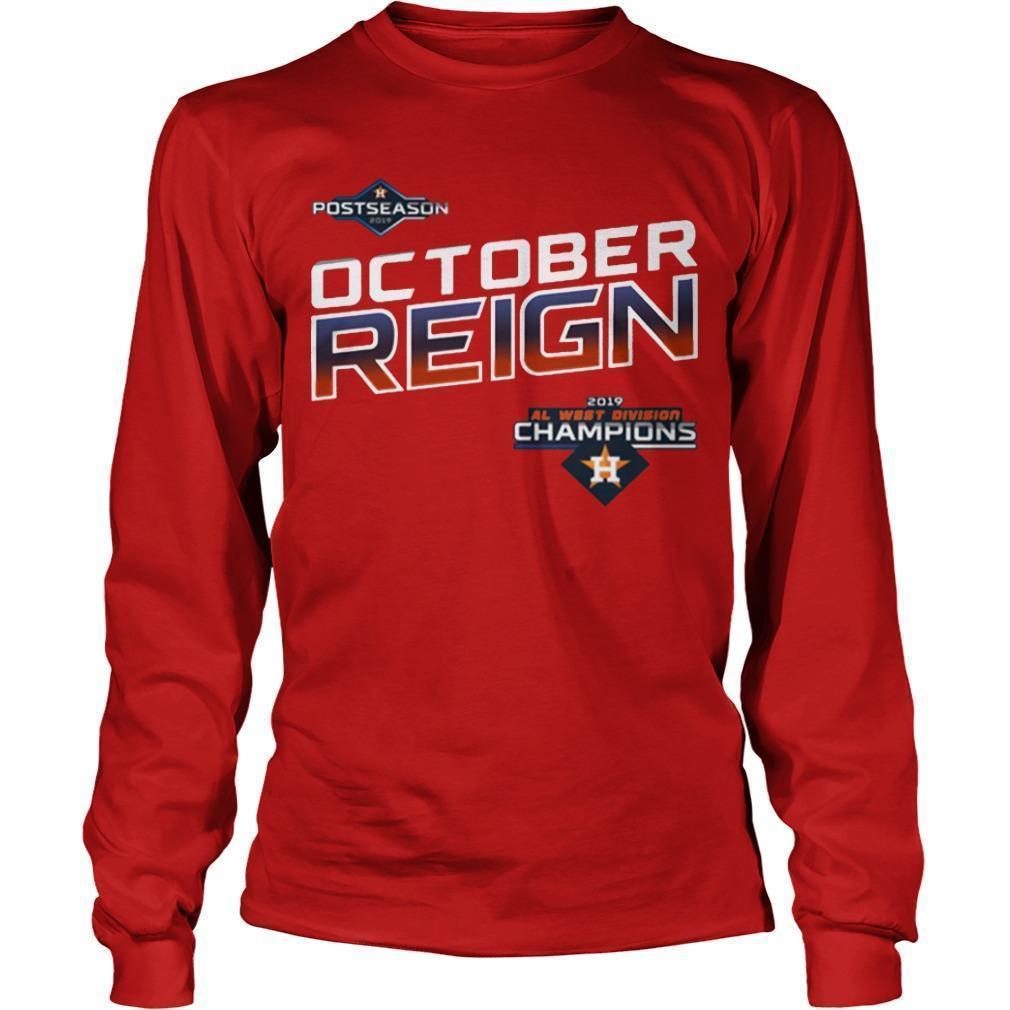 Astros October Reign Longsleeve