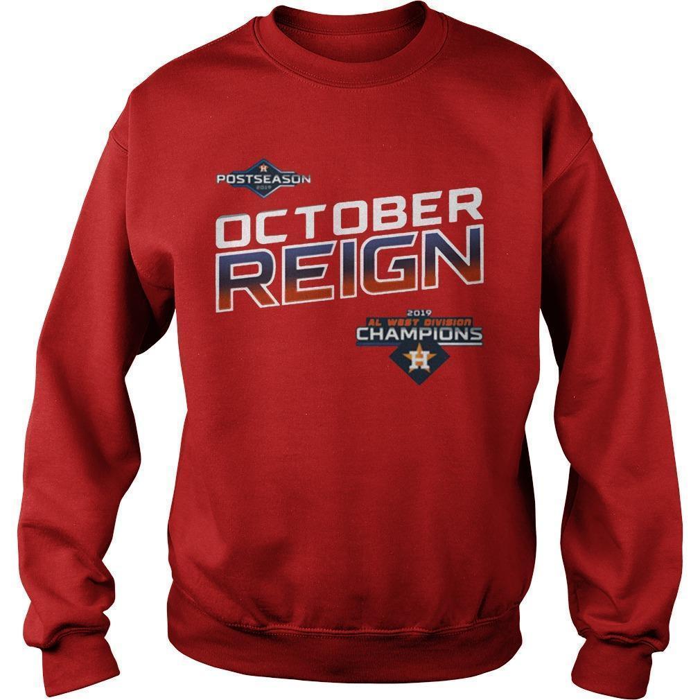 Astros October Reign Sweater