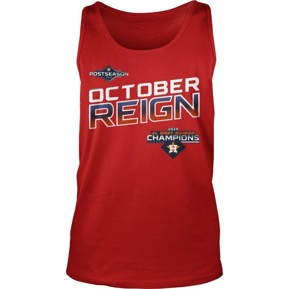 Astros October Reign Tank Top