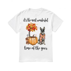 Australian Cattle It's The Most Wonderful Time Of The Year Shirt