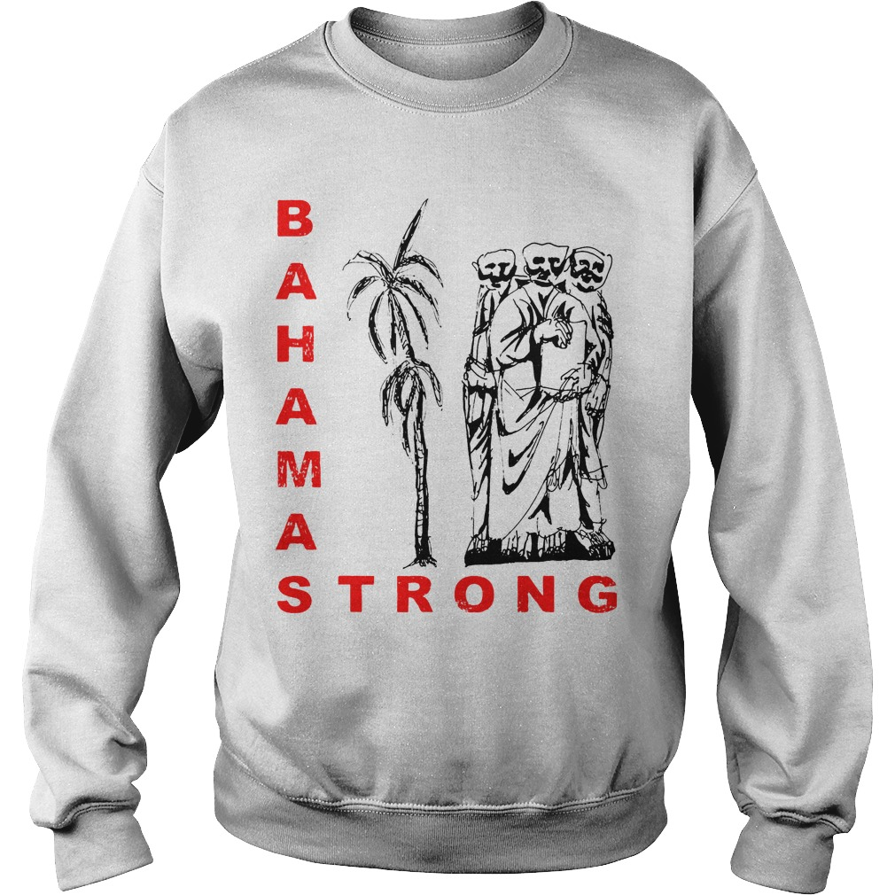 Bahamas Strong Dorian Hurricane Sweater