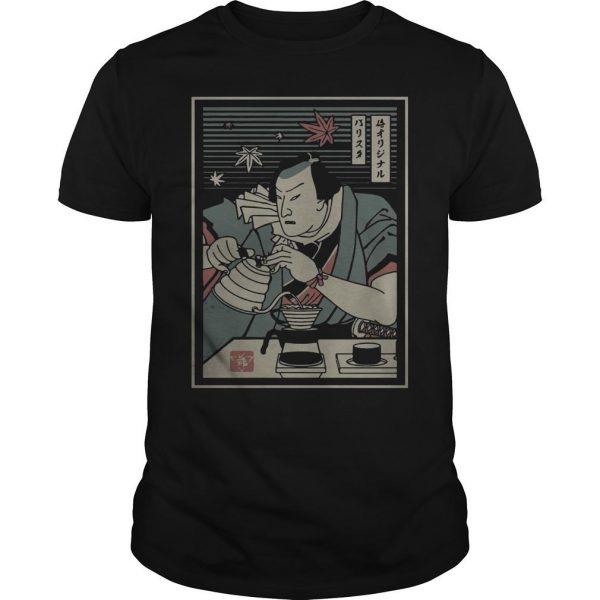 Barista Samurai Shirt