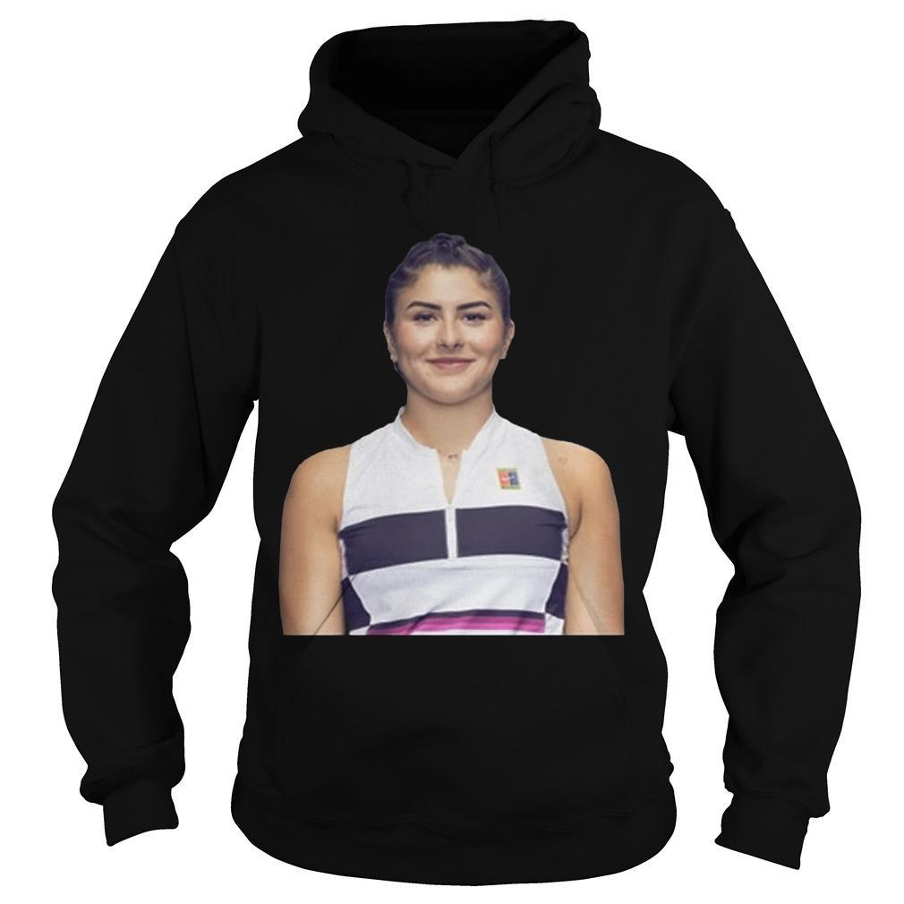 Bianca Andreescu Changes Hoodie