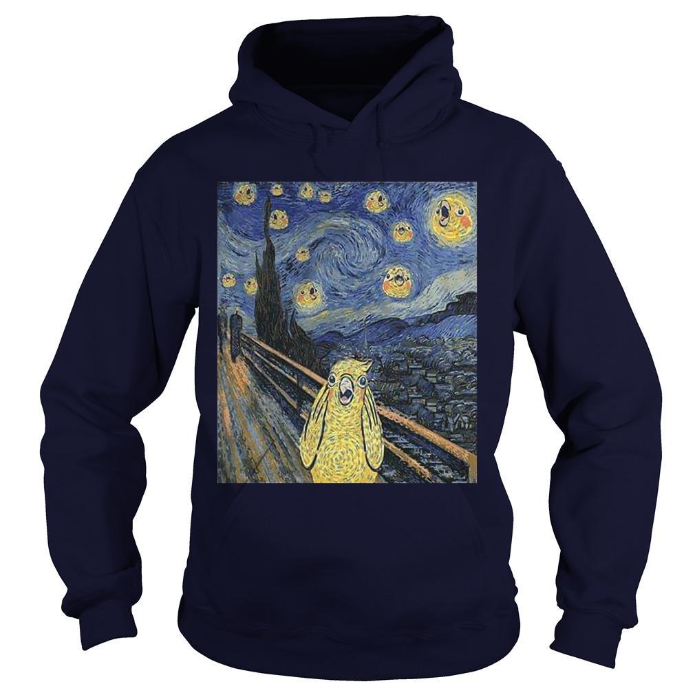 Bird Van Gogh Hoodie