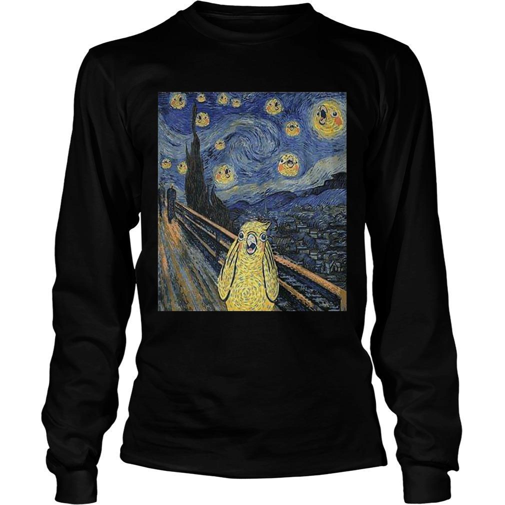 Bird Van Gogh Longsleeve