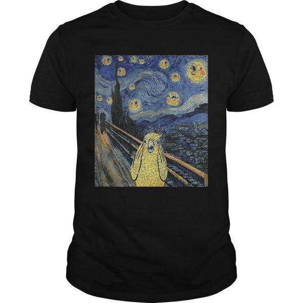 Bird Van Gogh Shirt