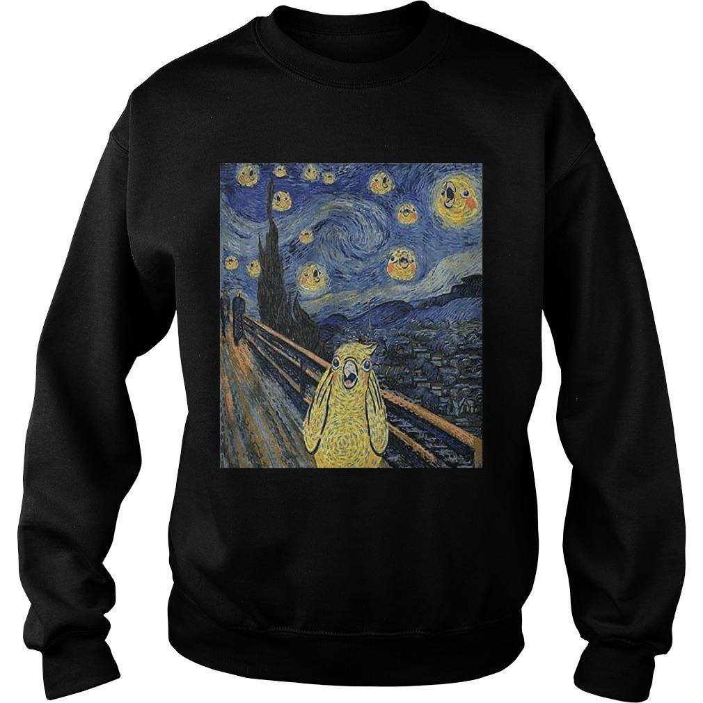Bird Van Gogh Sweater
