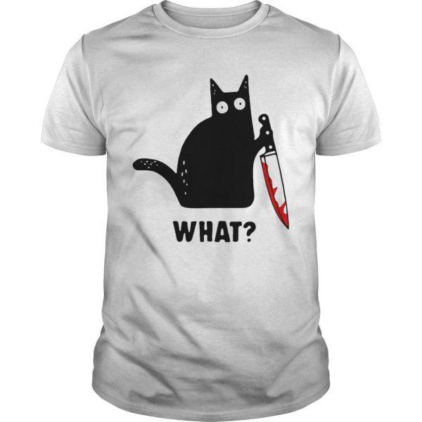 Black Cat Murdered What Shirt