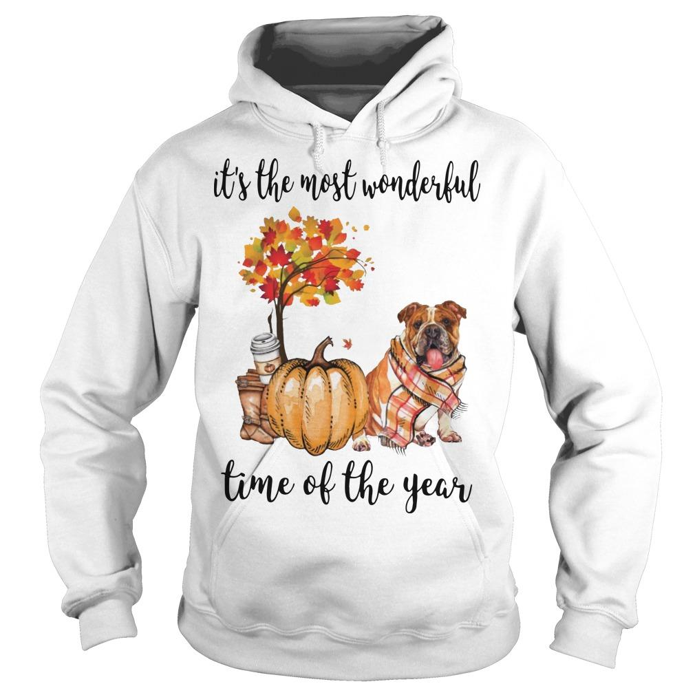 Bulldog It's The Most Wonderful Time Of The Year Hoodie