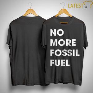 CNN Climate No More Fossil Fuel Shirt