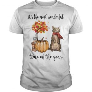 Cat It The Most Wonderful Time Of The Year Shirt