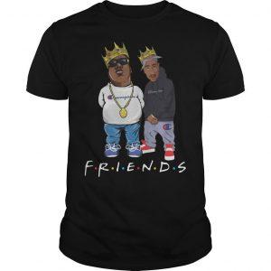 Champion Tupac Biggie Friends Shirt