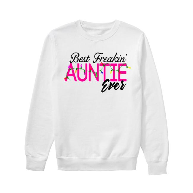 Christmas Lights Best Freakin' Auntie Ever Sweater