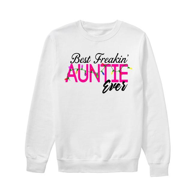 Christmas Lights Best Freakin' Auntie Ever Sweater