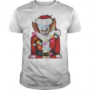 Christmas Pennywise Santa Claus Shirt