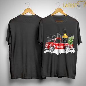 Christmas Truck Jack Daniels Whiskey Shirt
