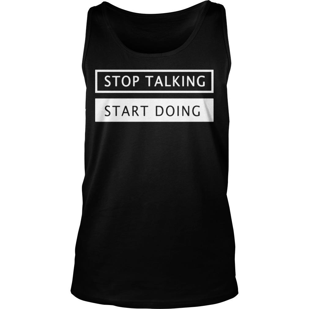 Conservative Activist Scott Presler Stop Talking Start Doing Tank Top