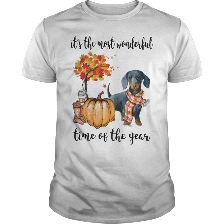 Dachshund It's The Most Wonderful Time Of The Year