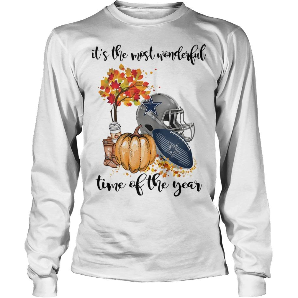 Dallas Cowboys It's The Most Wonderful Time Of The Year Longsleeve