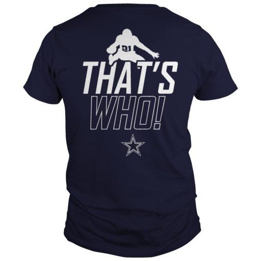 Dallas Cowboys Zeke Who That's Who