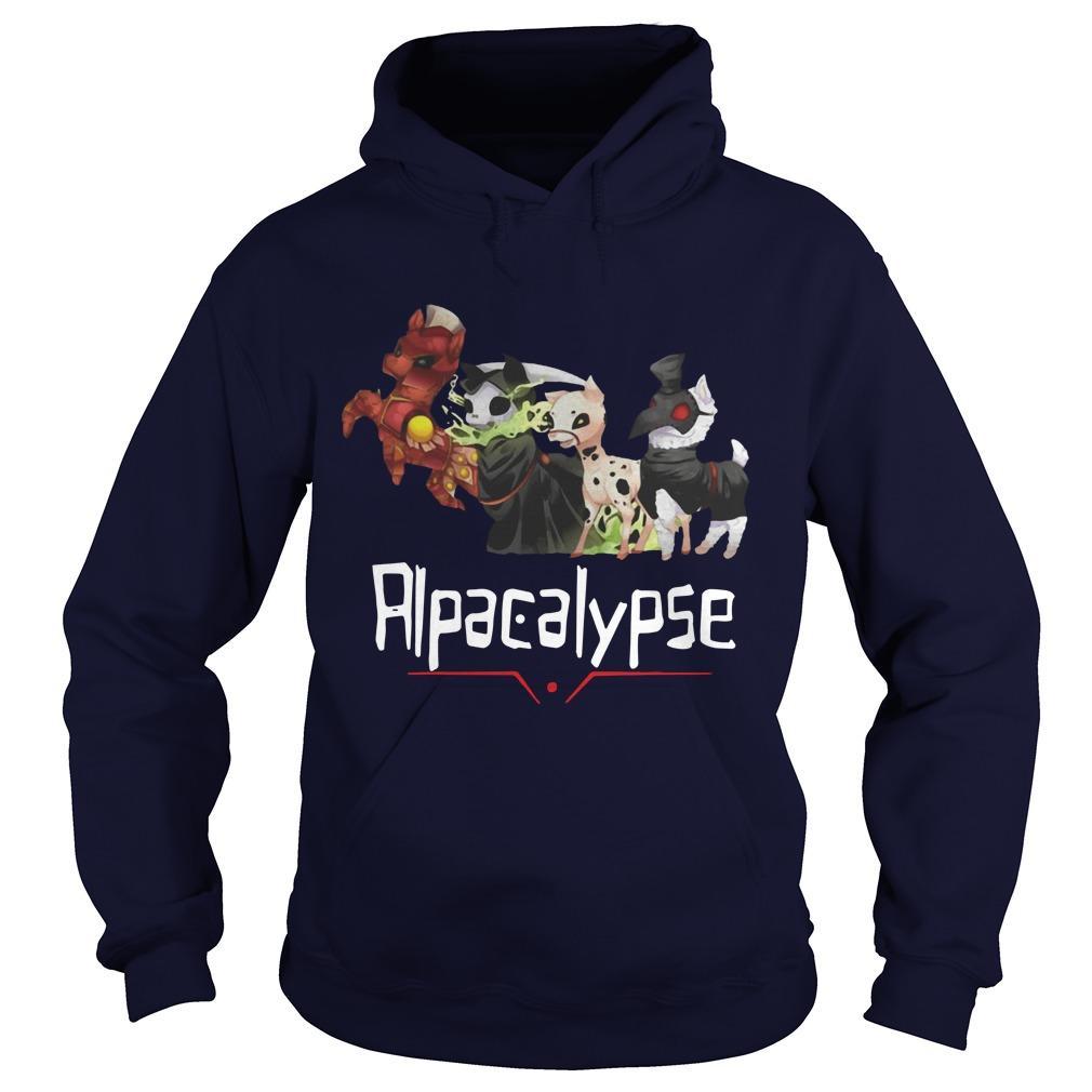 Death War Plague Alpacalypse Hoodie