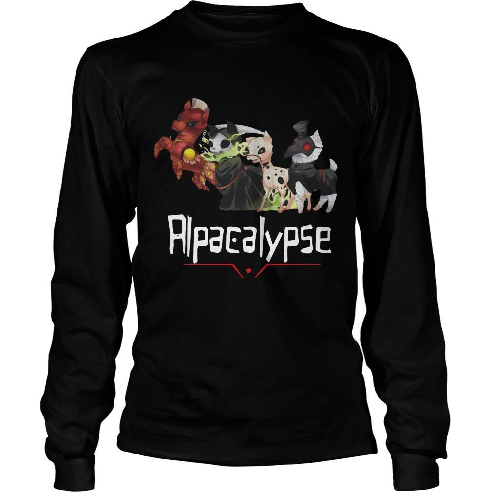 Death War Plague Alpacalypse Longsleeve