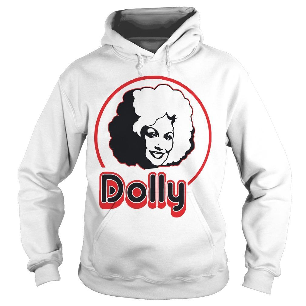 Dolly Parton In A Short Sleeve Hoodie