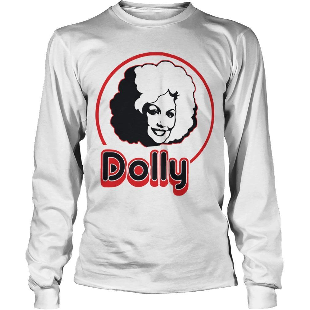 Dolly Parton In A Short Sleeve Longsleeve