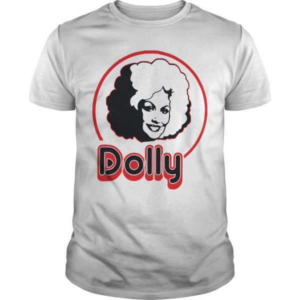 Dolly Parton In A Short Sleeve Shirt
