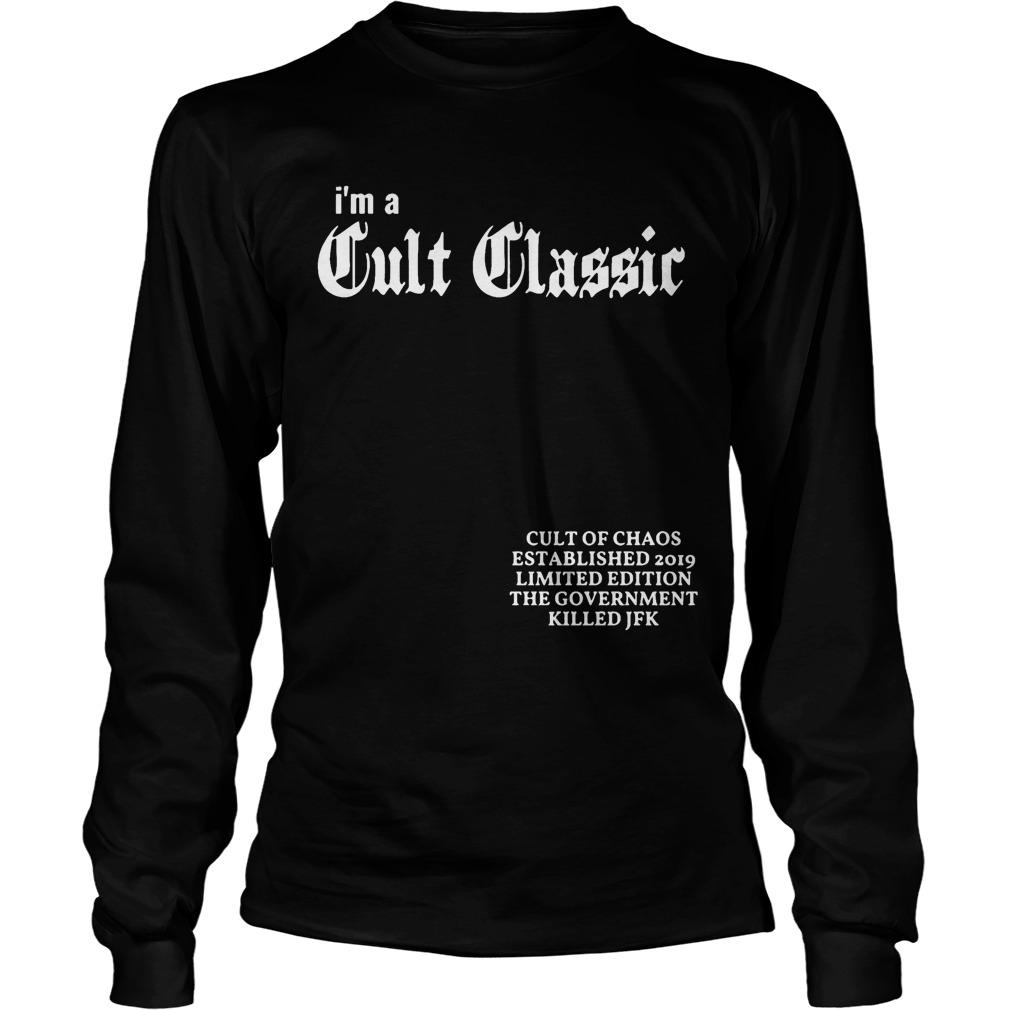 Elijah Daniel Cult Of Chaos I'm A Cult Classic Longsleeve
