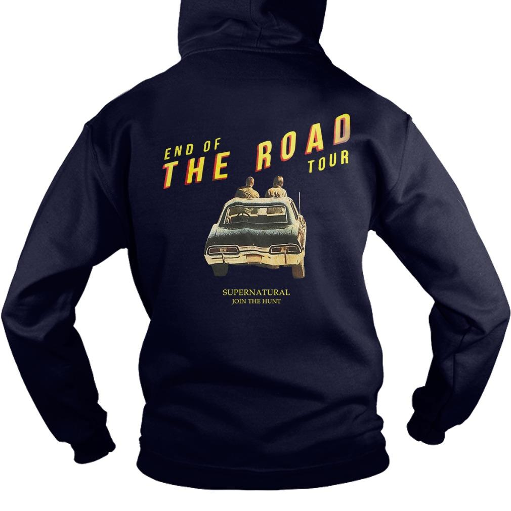 End Of The Road Hot Topic Supernatural Hoodie