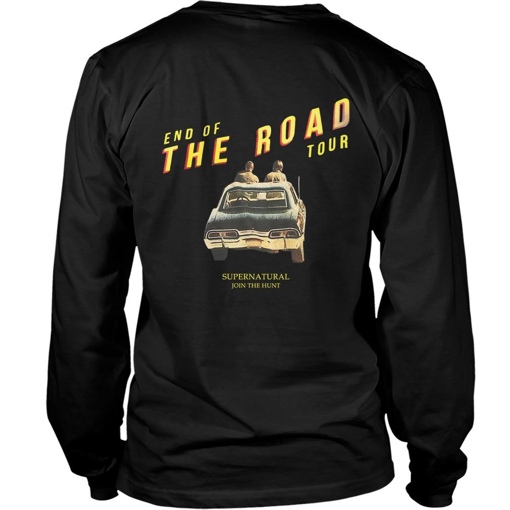 End Of The Road Hot Topic Supernatural Longsleeve