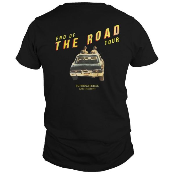 End Of The Road Hot Topic Supernatural Shirt