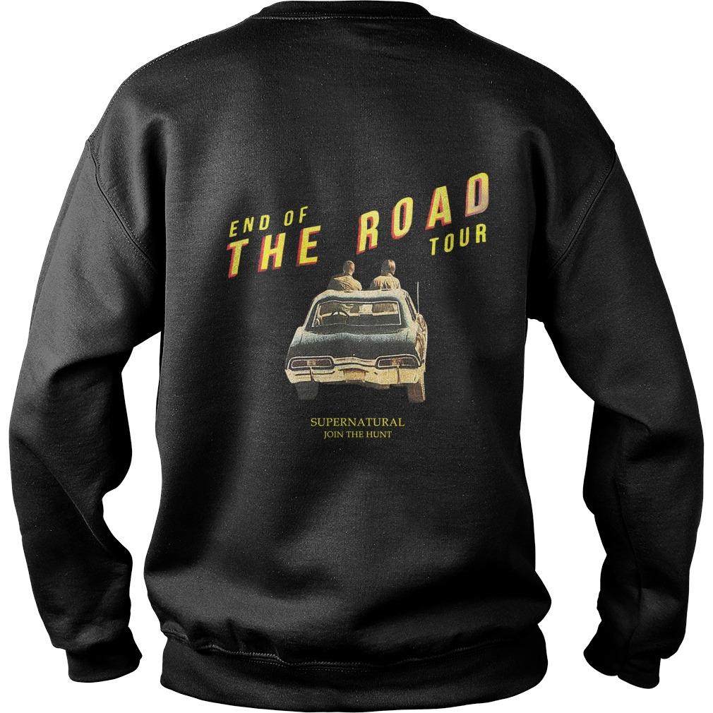 End Of The Road Hot Topic Supernatural Sweater