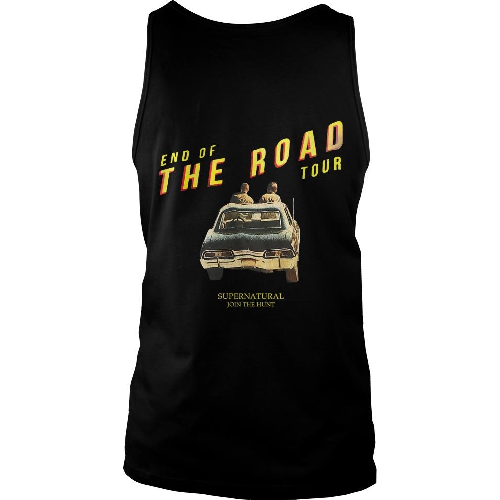 End Of The Road Hot Topic Supernatural Tank Top