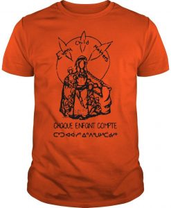 Every Child Matters Chaque Enfant Compte Orange T Shirt Day Shirt