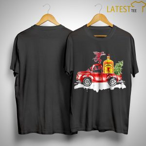 Fireball Cinnamon Whisky Christmas Truck Shirt