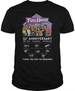 Full House 32th Anniversary Thank You For The Memories Signatures