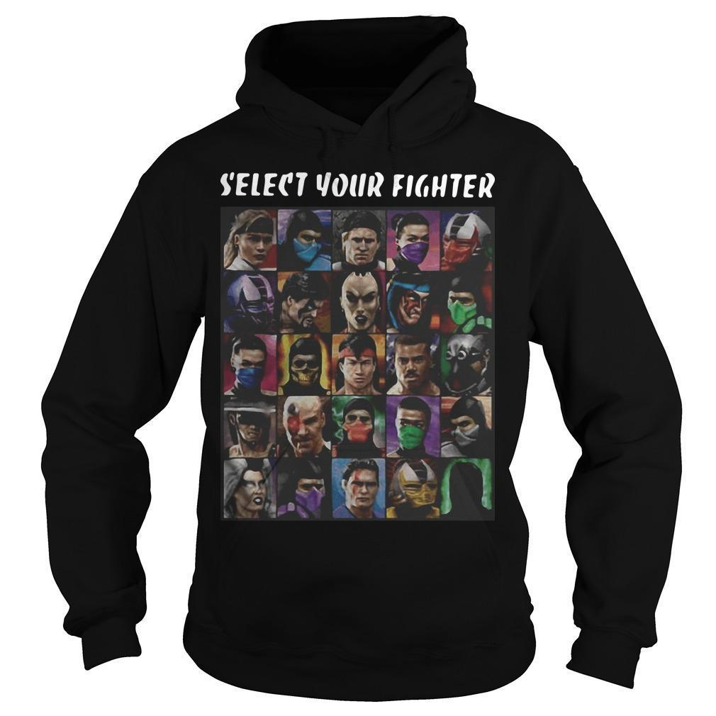 Game Mortal Kombat Select Your Fighter Hoodie